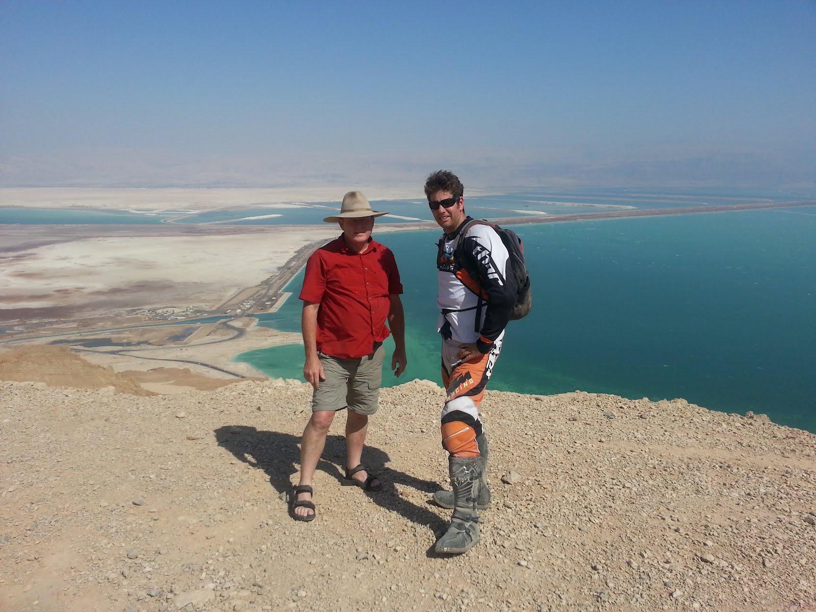 Kim and Ehud.