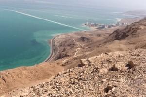 Ein Bokek at the Dead Sea.