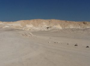 Near Mount Sedom.