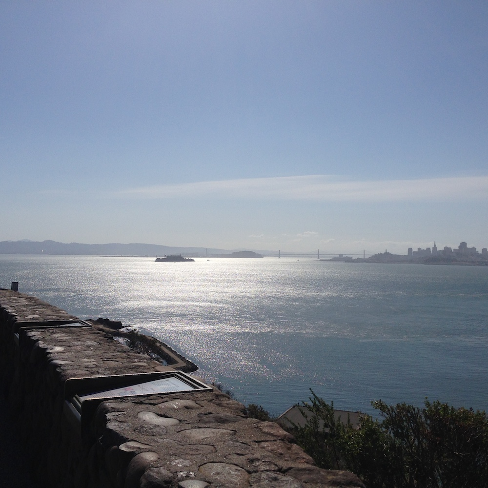 View of Alcatraz.
