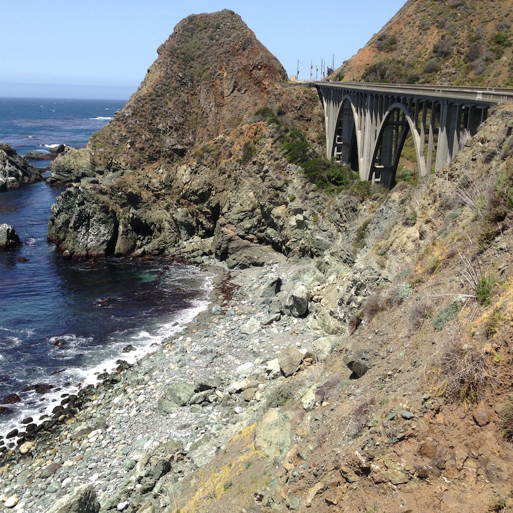Bridge near Big Sur.