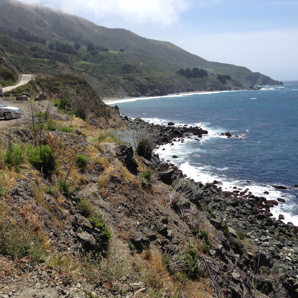 Big Sur coastline.