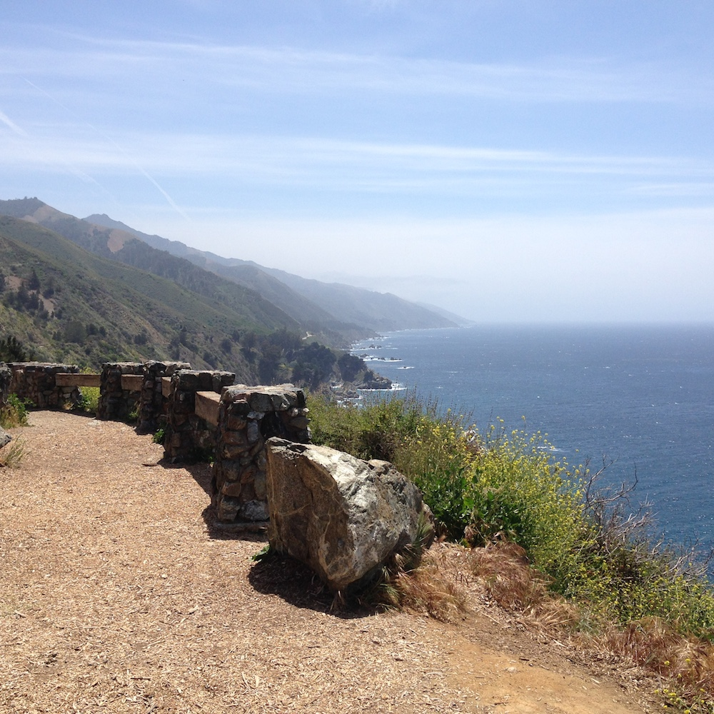 Big Sur views.