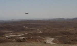 Hercules were a common sight in the Negev.