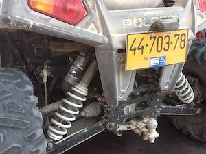 Great suspension setup.