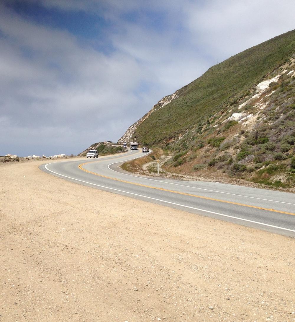 Near Carmel.
