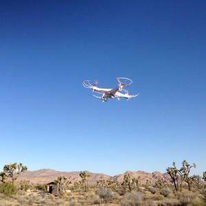Mark's drone.