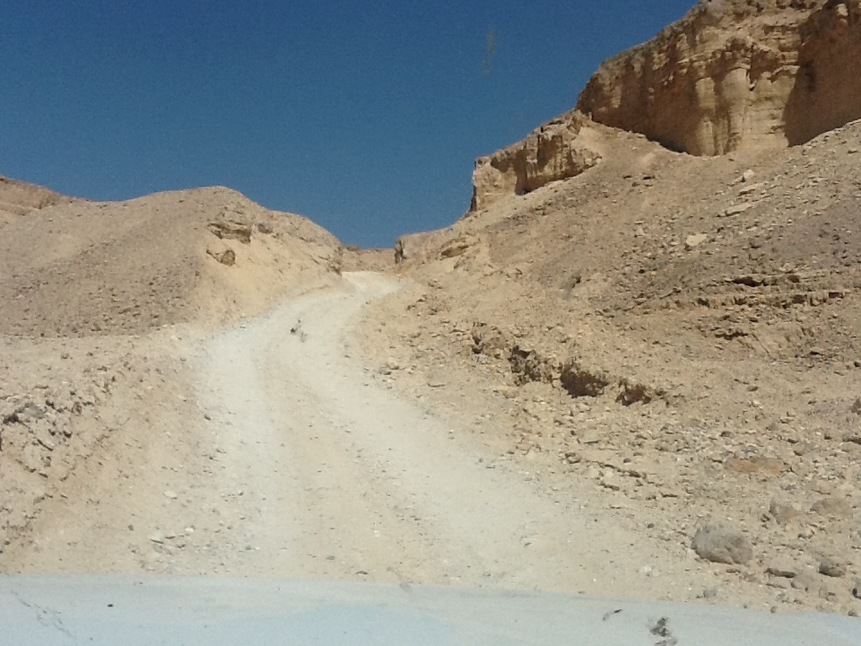 Into the Hatzera Crater.