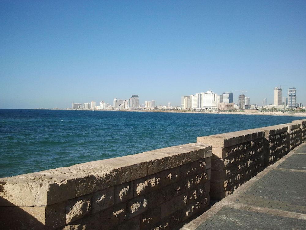 Tel Aviv from Jaffa Promenade.