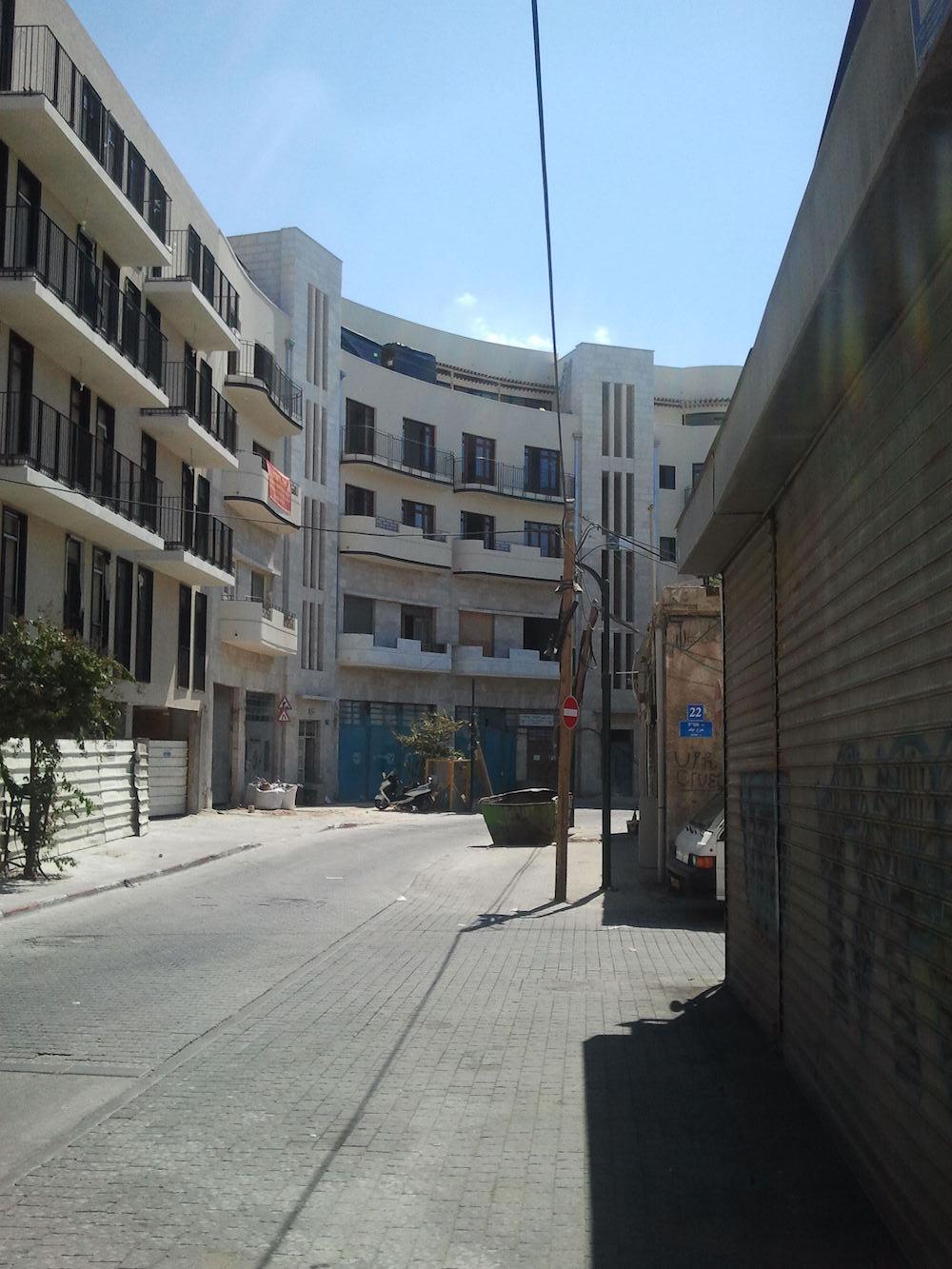 In Jaffa.