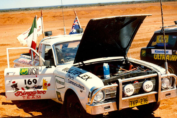 Ute at Yalgoo.