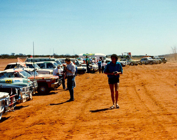 At Yalgoo racecourse.