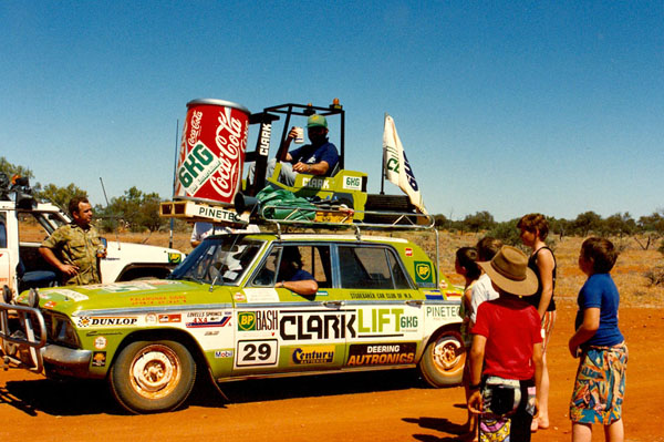 The Clarklift car