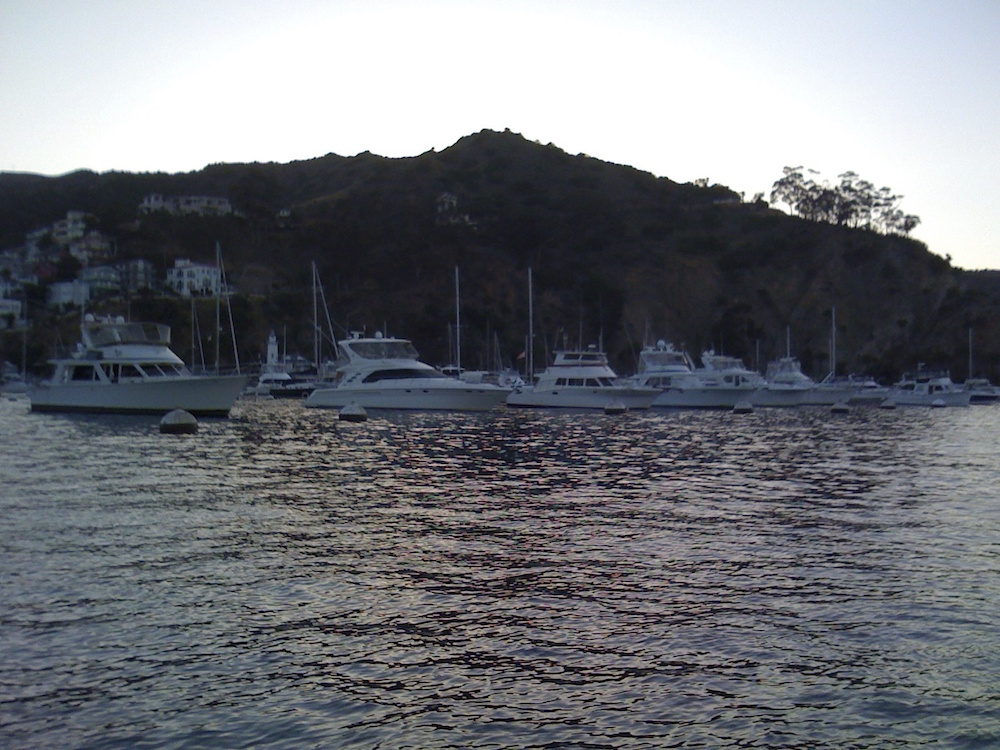 Evening at Catalina.