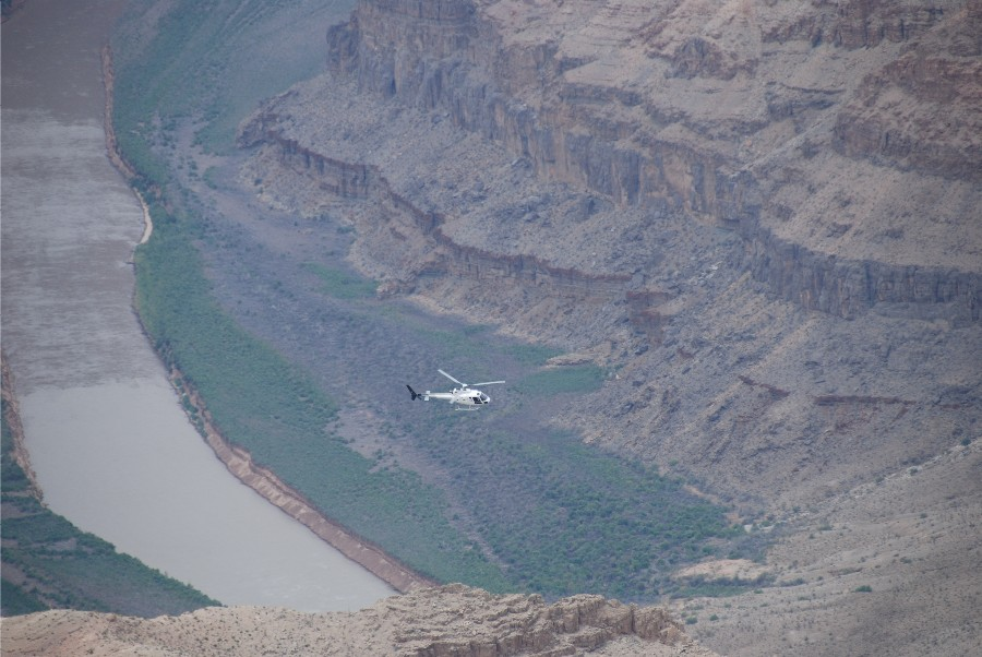 A great way to see the canyon.