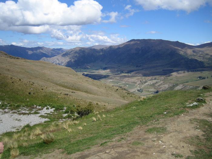 Near Coronet Peak.