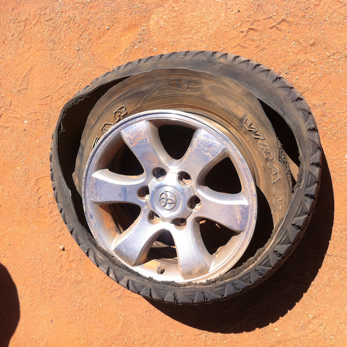 How arguments start on the efficacy of tyres.
