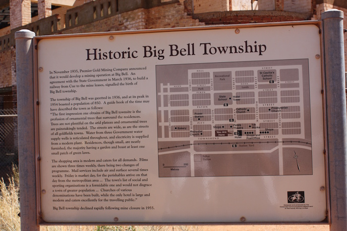 Historic Big Bell Township.