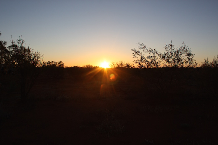 Sunset at Berringarra.