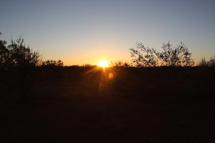 Sunset at Berringarra.