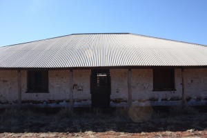 The integrity of the roof is most important to maintain heritage buildings.