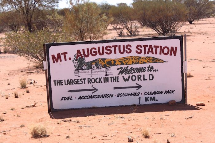 Welcome to Mount Augustus Station.