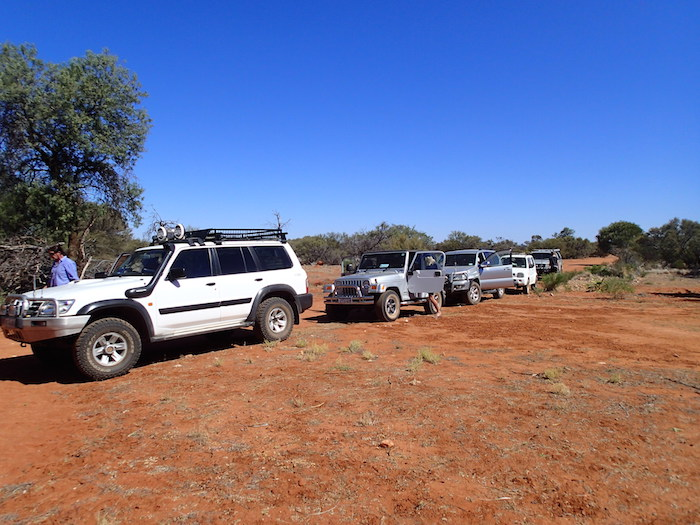 Arriving at Pinda Well.