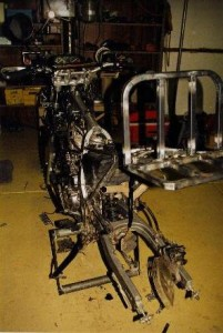 Dominator disassembled