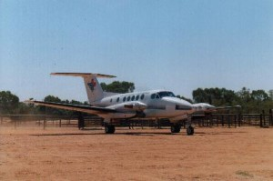 RFDS plane that took me to Alice Springs.