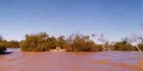Above Hardabut Rapids.