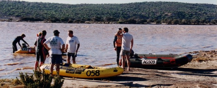 Arrival at Kalbarri.