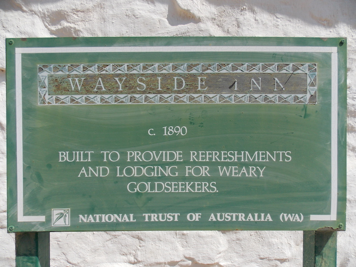 More information signs like these are needed at heritage sites