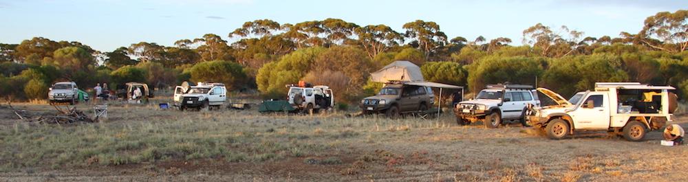 Dordie Rocks campsite
