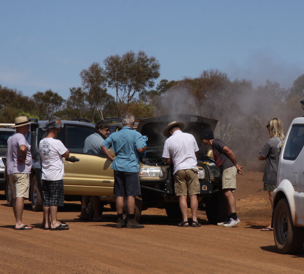 The Vitara was very hot.