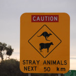 Common sign in outback pastoral country.