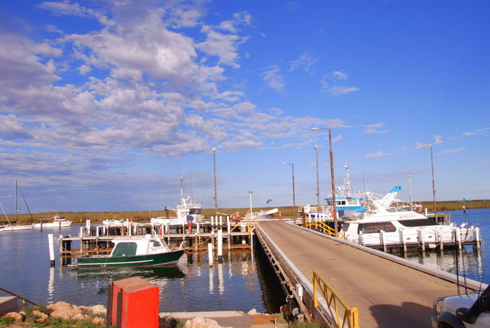 Carnarvon Fishing Boat Harbour.