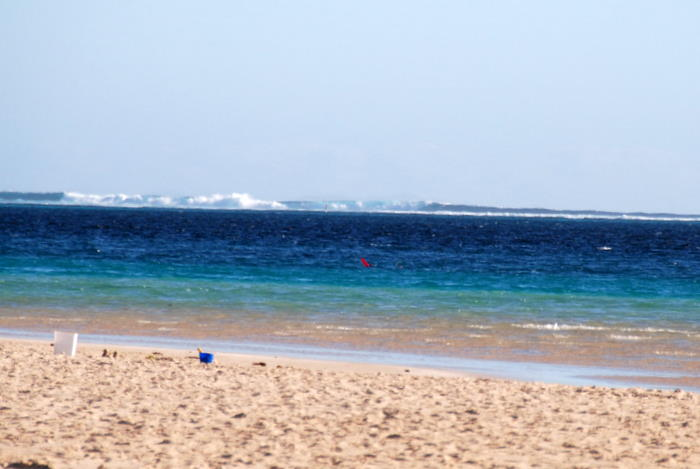 Protected by the Ningaloo Reef.