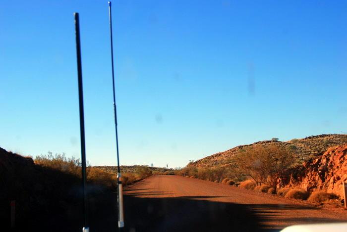Into the Pilbara.