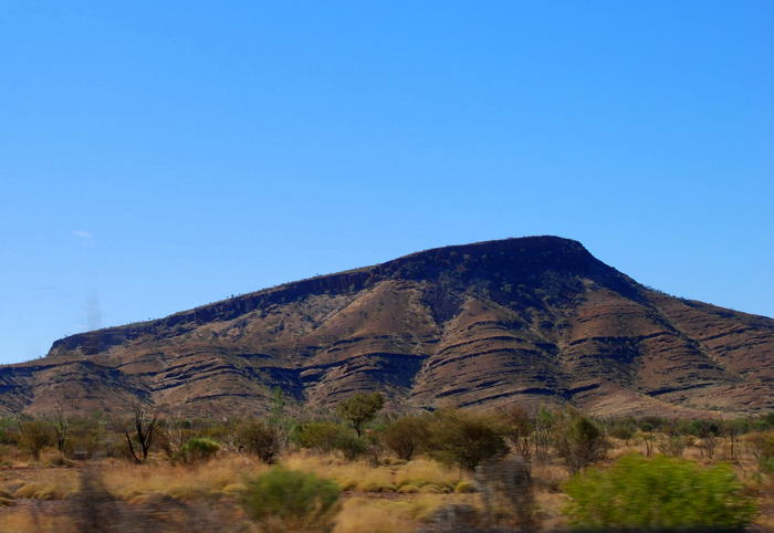 The rugged Hamersley Range.