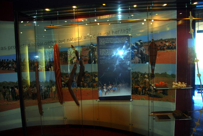 Inside Karijini Visitor Centre