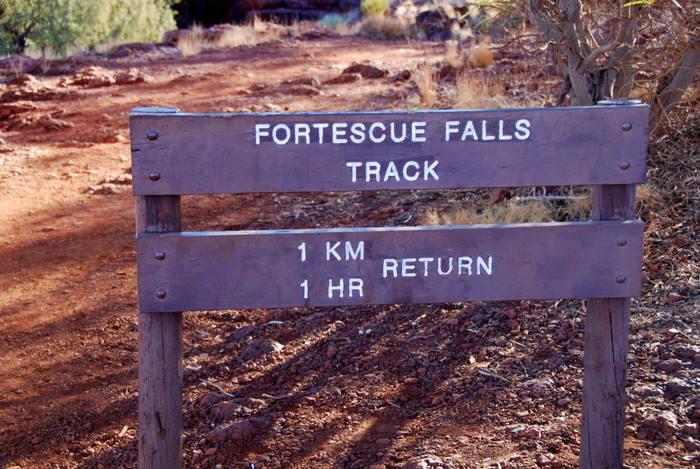 Fortescue Fall Track