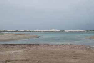 At the Wylie Head end of Cape Le Grand Beach.