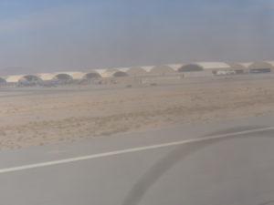 Aircraft hangars.