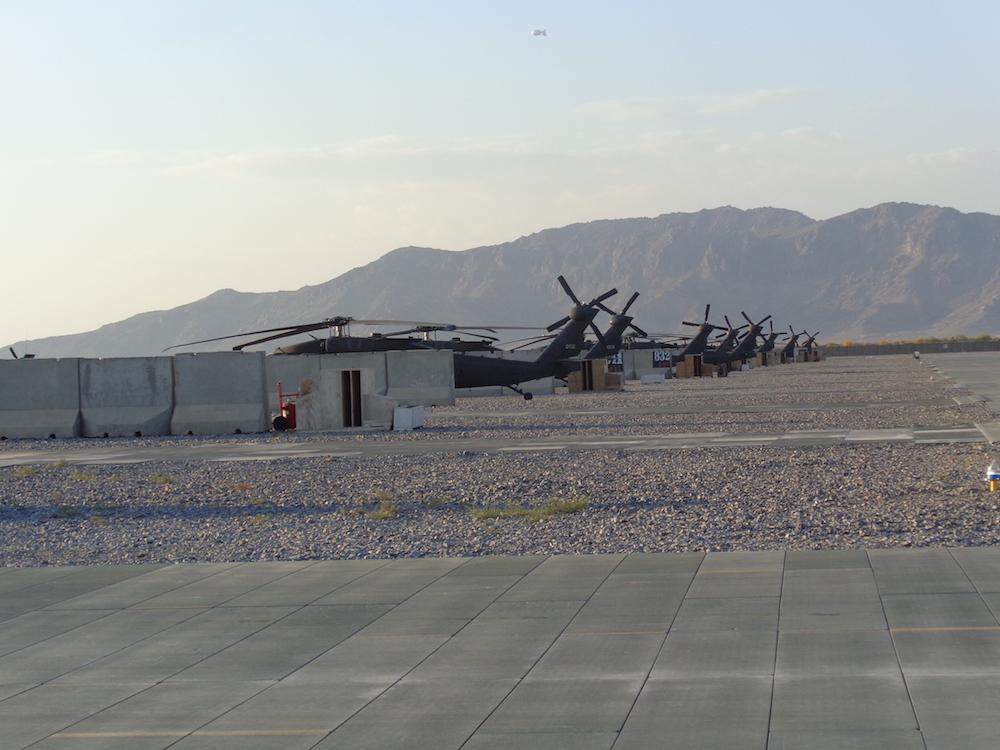 Sikorsky UH-60 Black Hawks - workhorse of the US Army.