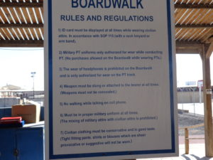 Rules of the Boardwalk.