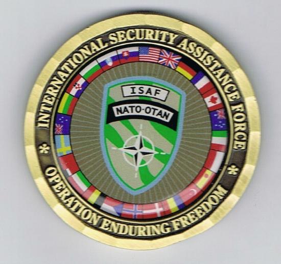 ISAF Medallion