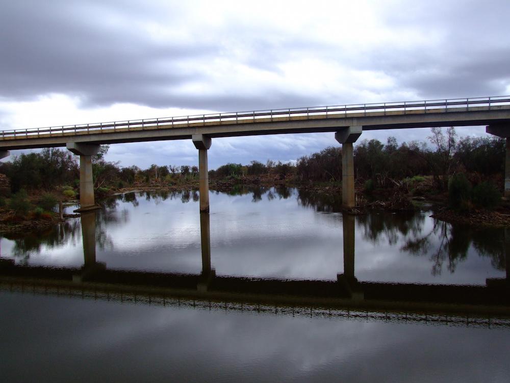 Galena Bridge looking downriver.