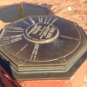 Top of Uluru.
