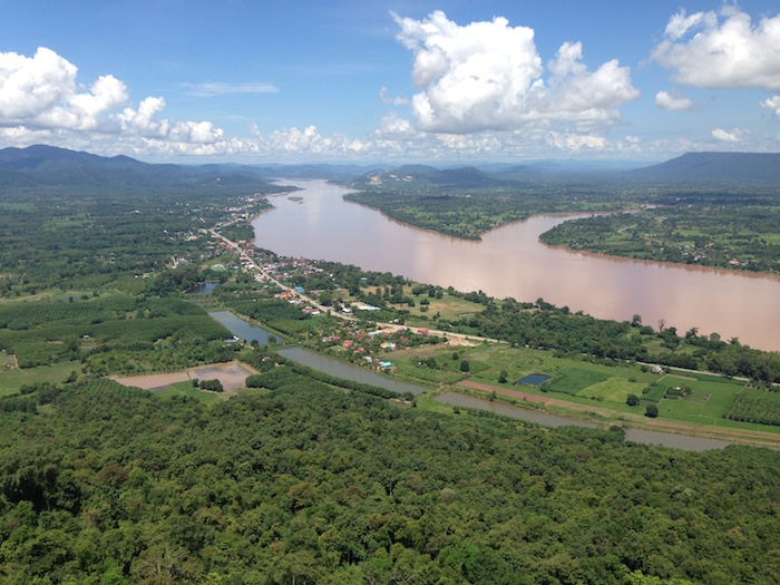 Magnificent views of the Mekong and Laos