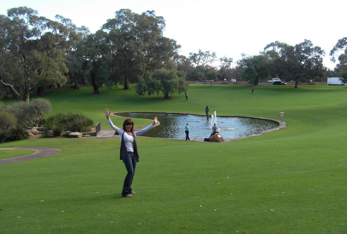 Tammy in Kings Park, Perth